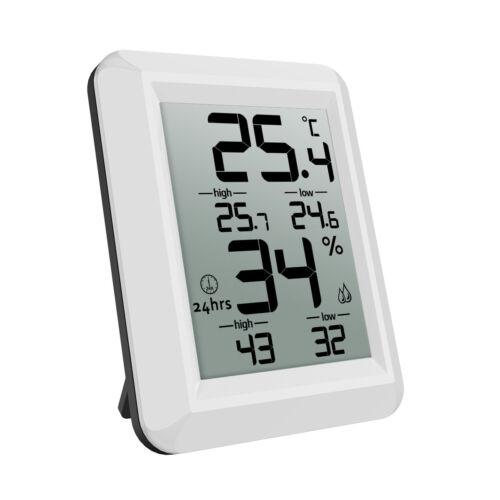 Innen Schlafzimmer Funk Thermometer LCD Digital Hygrometer Mit Luftfeuchtigkeit