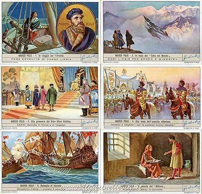 Chromo Liebig Sang. 1431 Ita Marco Polo Anno 1941 Calcolo Attento E Bilancio Rigoroso