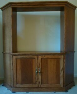 Image Is Loading Bedroom Family Room Corner Unit Entertainment Center By