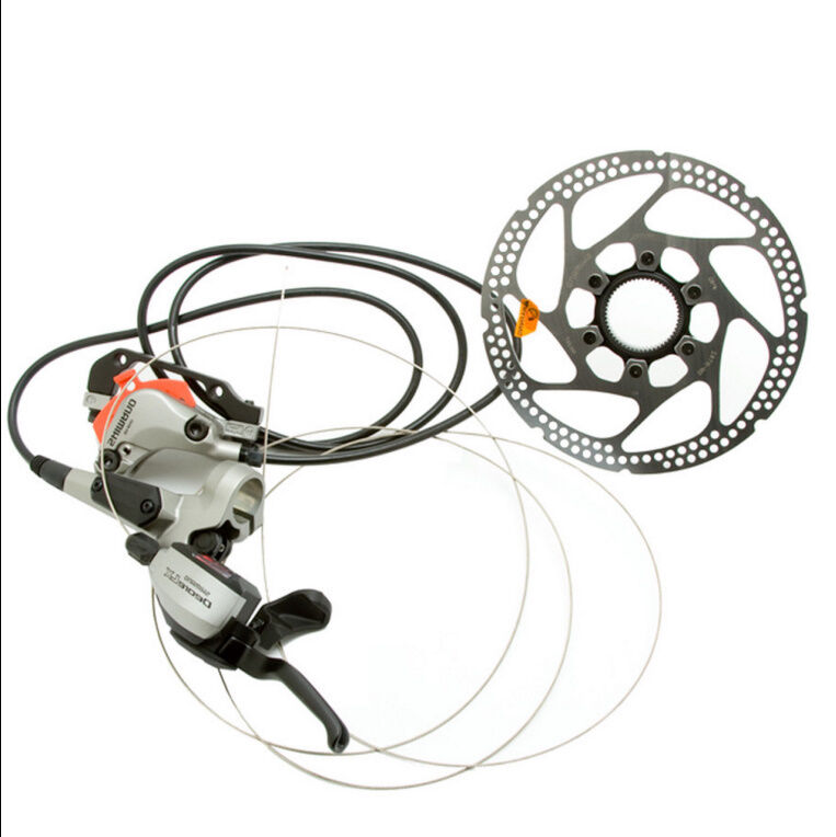 SHIMANO Deore LX Hydraulic MOUNTAIN Fahrrad mtb FRONT Disc BRAKE Shifter LEVER SET