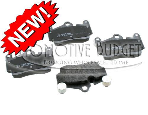 NEW Rear Brake Pads w//Sensors for Audi Q7 Porsche Cayenne /& Volkswagen Touareg