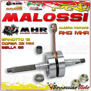 Malossi 539212 Vilebrequin Rhq Mhr Sp. Ø 12 Gilera Runner Sp 50 2t Lc