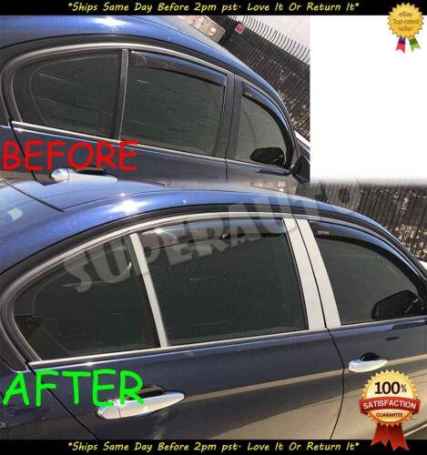 For 2012-2016 BMW F30//F31 Sedan 3Series 6pcs Door Pillar Post+8pcs Handle Cover