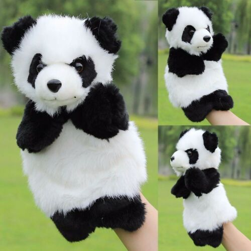 Panda Hand Puppet Kids Plush Doll Storytelling Stage Show Educational Role Play