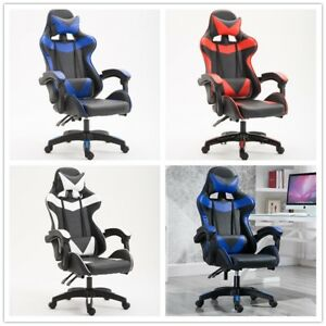 1 Silla Gaming Oficina Racing Sillon gamer Despacho Profesional Videojuegos PC
