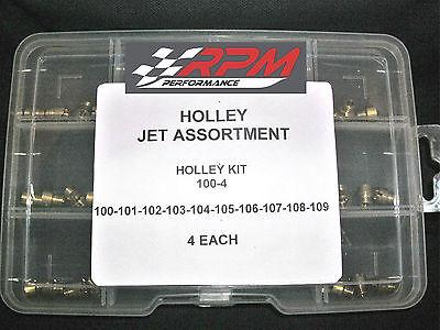"""20 PACK HOLLEY CARBURETOR  JETS 1//4/""""-32 100 101 102 103 104 105 106 107 108 109"""