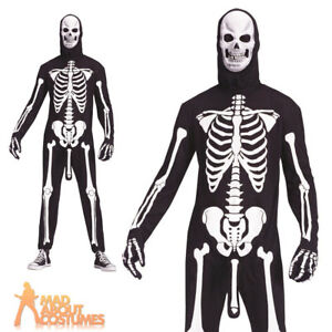 Adult Skele-Boner Costume Skeleton Halloween Novelty Funny Fancy ...
