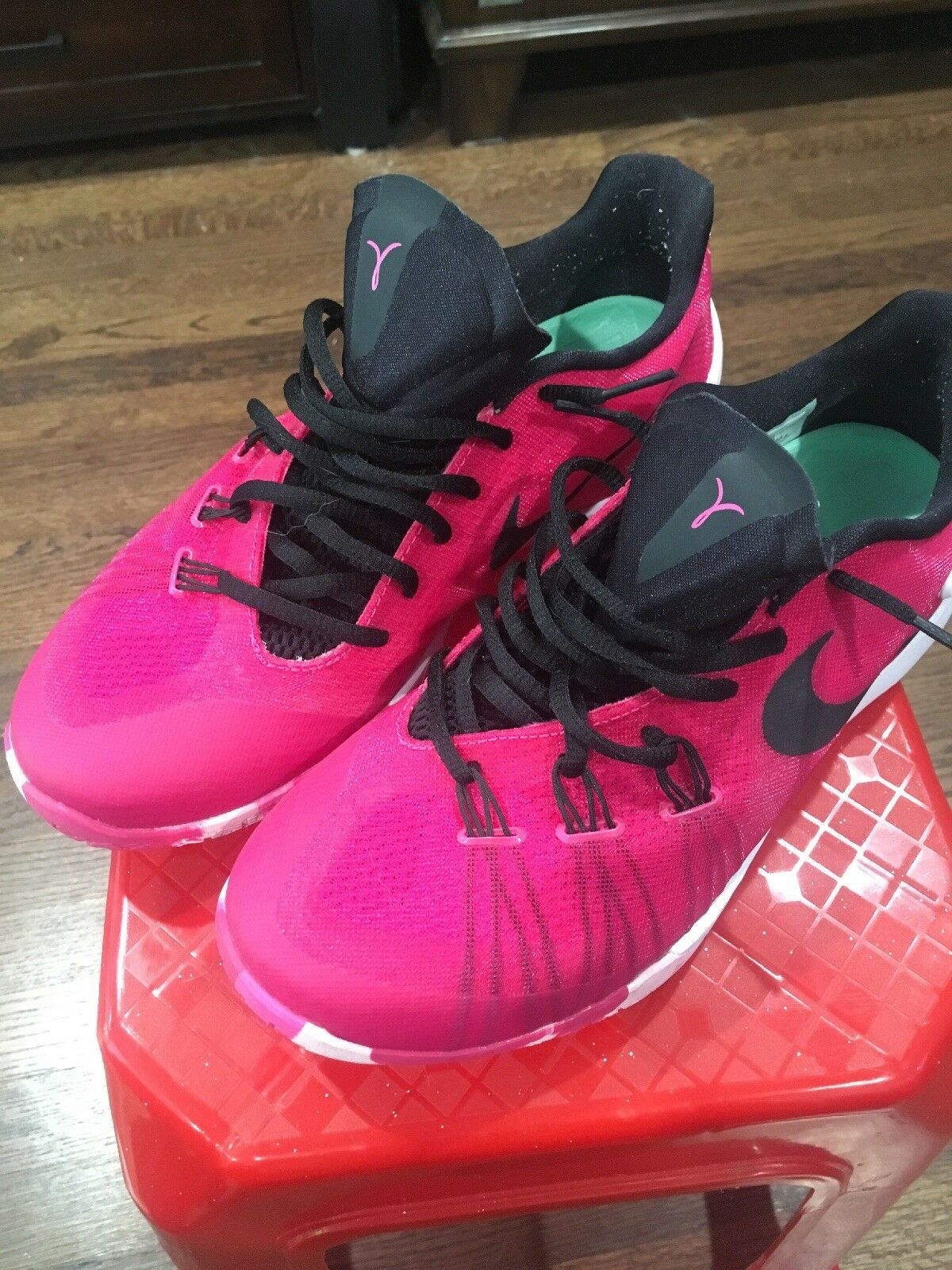 Nike Think Think Think Pink Hyperchase Breast Cancer Awareness Insole Swap With Kobe Lunar c76521