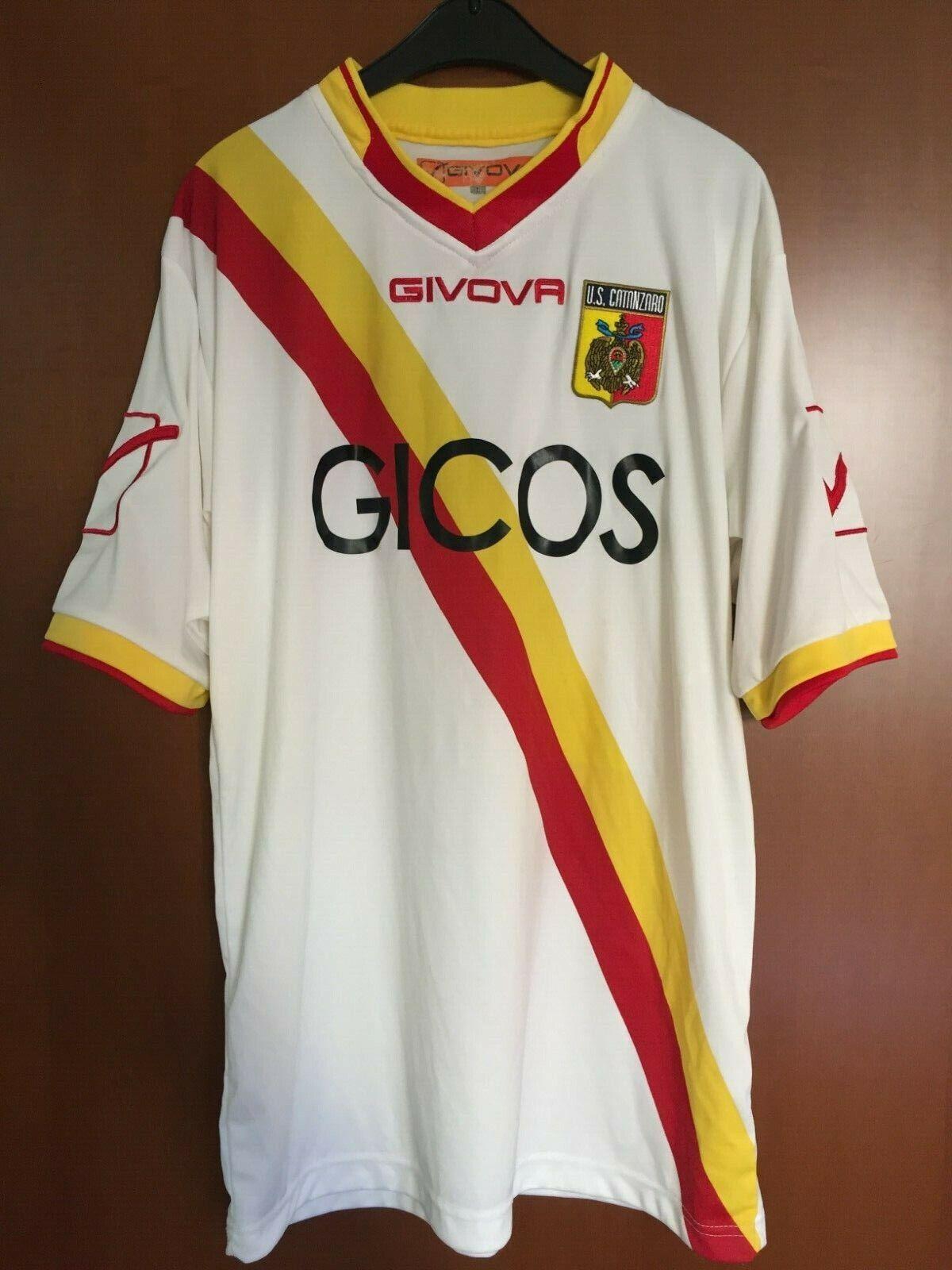 Maglia Shirt Trikot Maglietta Jersey Camiseta Catanzaro Gicos Givova Italia
