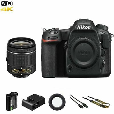Nikon D500 DSLR Camera +  18-55mm AF-P VR Lens
