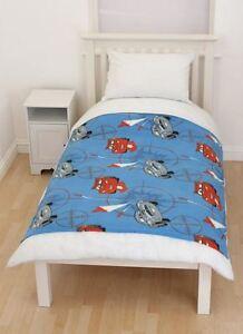 Disney Cars Lightning McQueen Fleece Blanket Bedroom 150cm x 120cm New Official