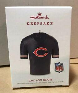 Hallmark-Keepsake-Ornament-NFL-Chicago-Bears-Jersey-2019-2020