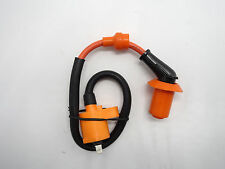 Ignition Coil 6 Pin For Kymco SYM Vento GY6 50 125cc 150cc Moped Scooter Orange