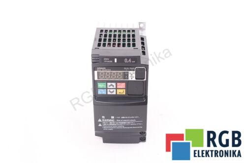 FREQUENZUMRICHTER INVERTER  3G3MX2-AB004-E 1x200-240V 400HZ 0,4KW OMRON
