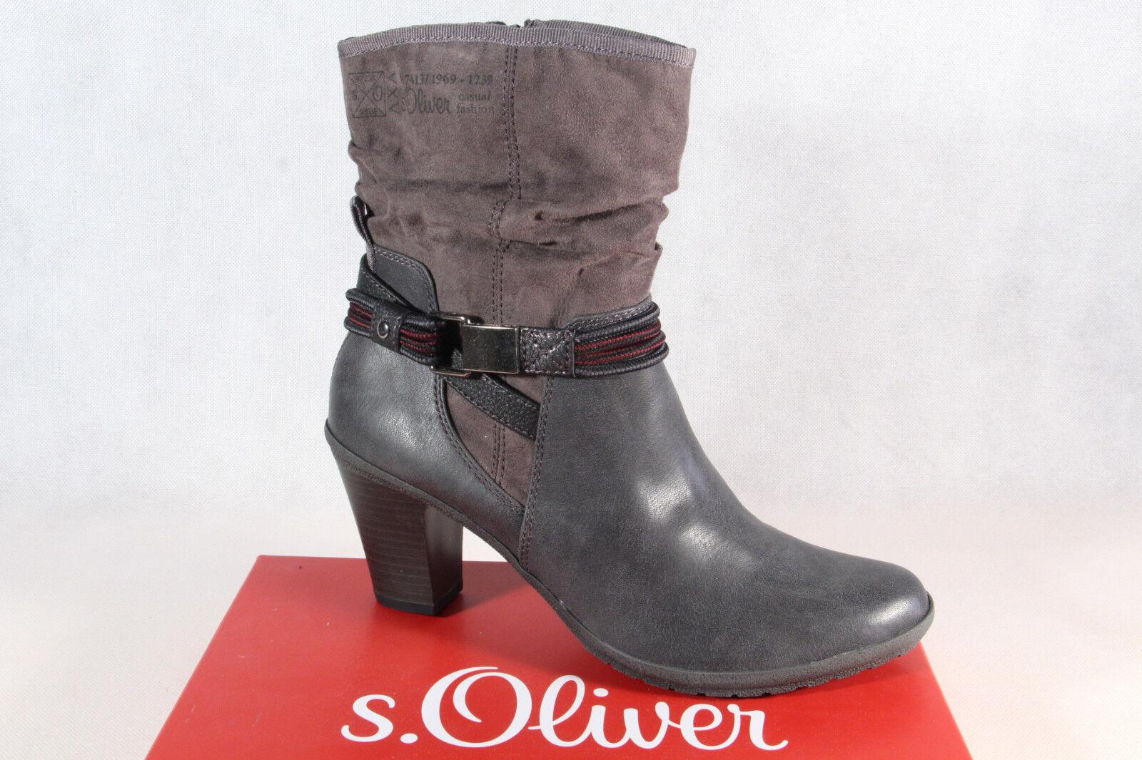 S.Oliver Stiefellete Creme Neu 41 Gr. Schuhe Stiefel
