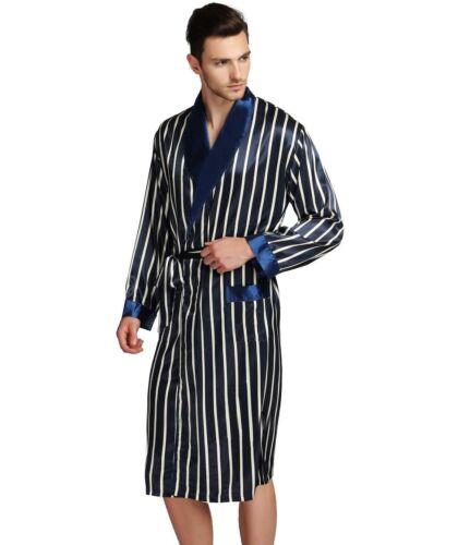 Robes da da regalo raso Natale Robe uomo notte di Pigiama per Camicia Accappatoio Camicia seta in di il 0xwF1dA0q