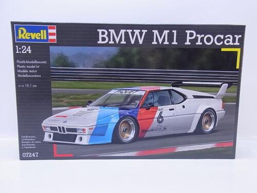 LOT 32731Revell 07247 BMW M1 Procar 1:24 Rennwagen Bausatz NEU in OVP
