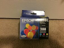 Epson T288XL-BCS Black/Tricolor Ink Cartridges - 4 in Pack