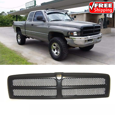 for dodge ram 1500 2500 3500 pickup truck front grill grille 1994 2001 ebay for dodge ram 1500 2500 3500 pickup truck front grill grille 1994 2001 ebay