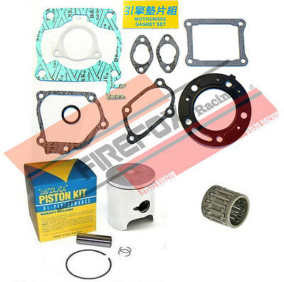 Honda CR125 1991 54mm Bore Mitaka Top End Rebuild Kit Inc Piston /& Gasket
