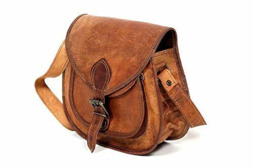 Women New Purse Vintage Brown Leather Messenger Cross Body Handmade Bag