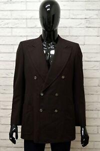 Giacca-PIERRE-CARDIN-Uomo-Taglia-XS-Maglia-Blazer-Doppiopetto-Jacket-Man-Cotone
