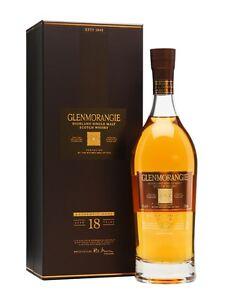 Glenmorangie 18 Year Old Extremely Rare Single Malt Scotch Whisky 700ml