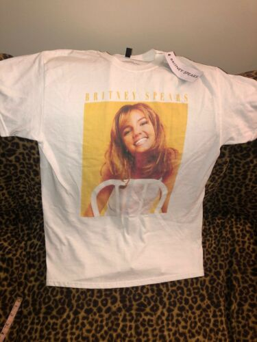 TOPSHOP BRITNEY SPEARS T-SHIRT TOP SIZE SMALL