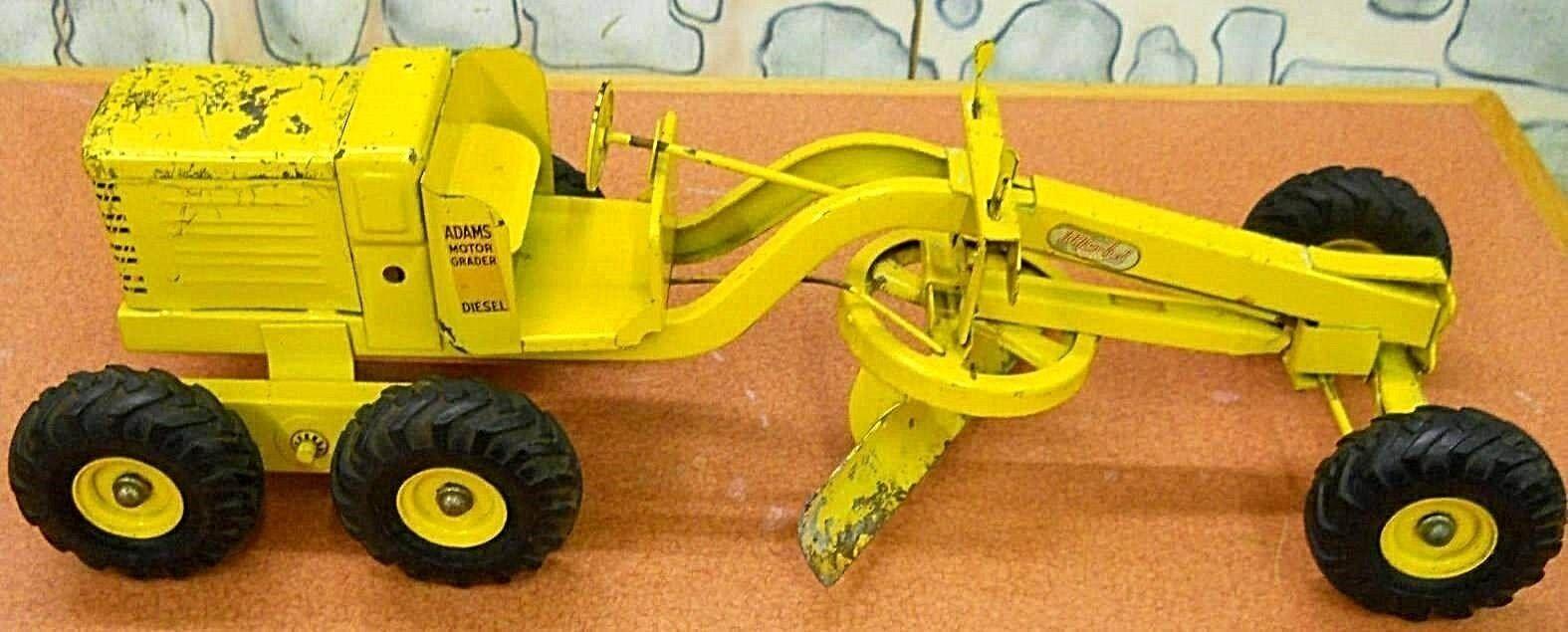 Doepke Adams jaune 26  échelle 1 12 Road Grader circa 1950... RARE, RARE