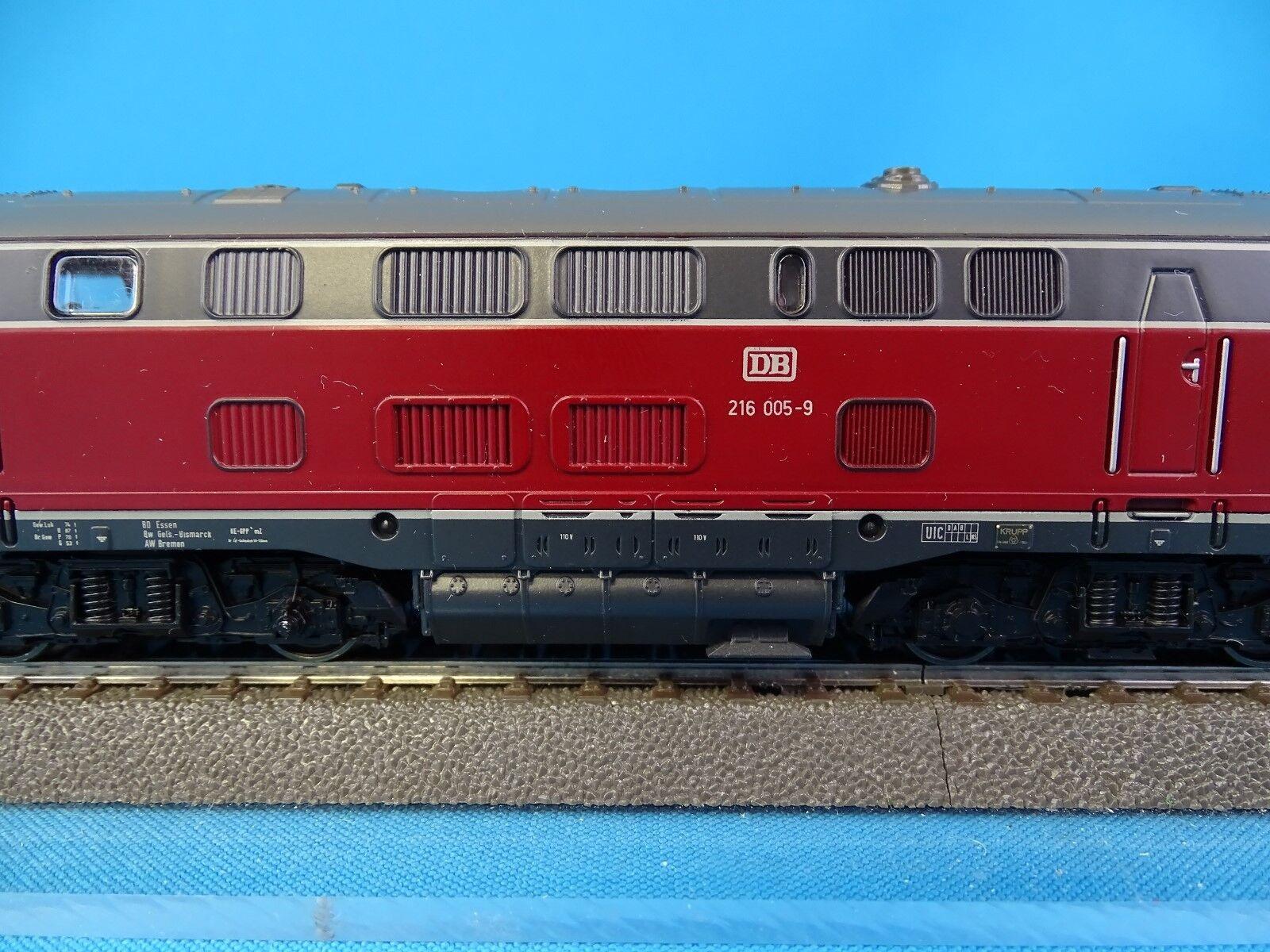Marklin 3379 DB Diesel Locomotive Br 216 rojo-gris   LOLLO   OVP