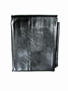BLACK HEAVY DUTY LEATHERETTE COVER FOR 7FT TABLES