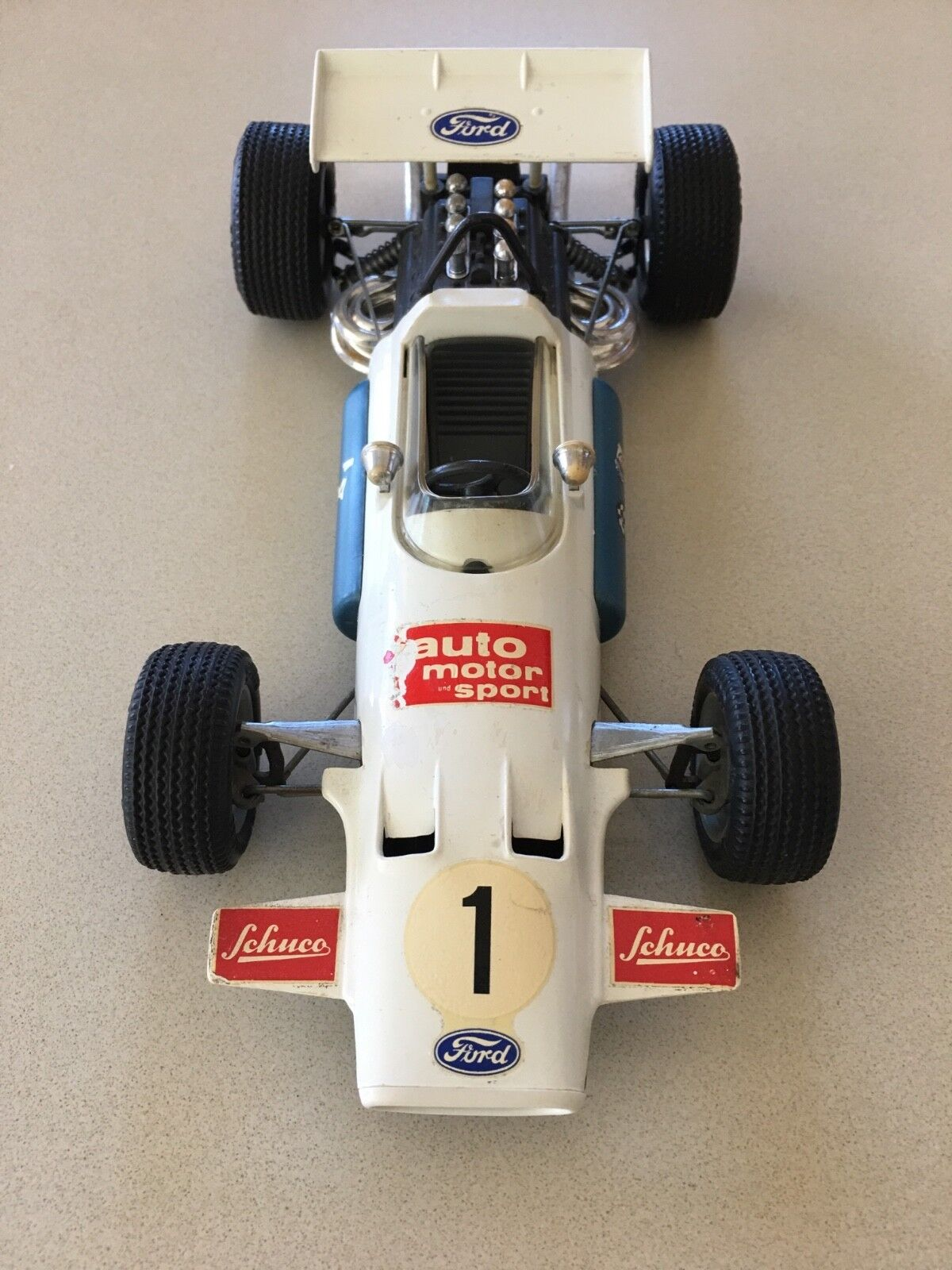 Vintage Scale Model Brabham - Ford Formula 1 by Schuco - BIG PRICE REDUCTION!!!!