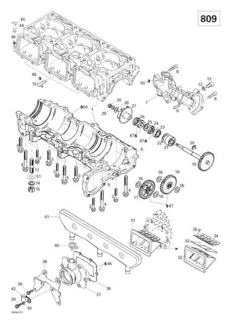 Chevy 454 Timing Chain Marks