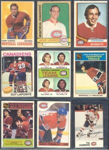 4-1970-039-s-amp-Up-Montreal-Canadiens-Hockey-Card-Lots-of-50-You-Pick-Lot-BONUS