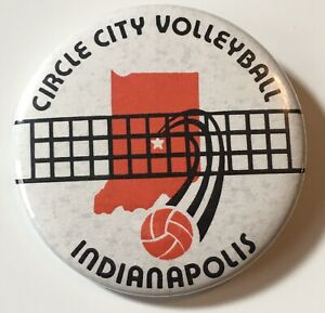Vintage-Circle-City-Volleyball-Indianoplis-2-Pinback-Button