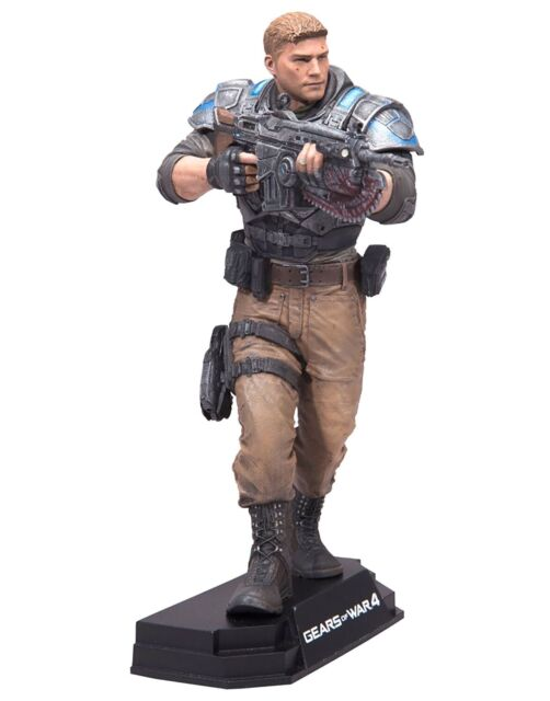 "McFarlane Gears of War 4 JD Fenix 7"" Action Figure"