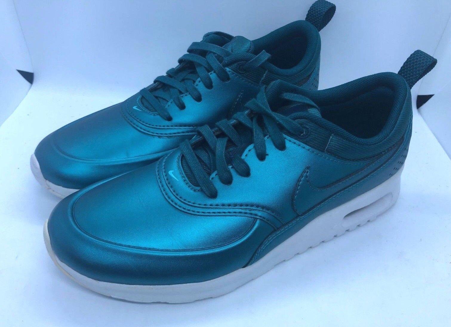 Nike air max thea donne scarpe 861674-901 metallico oscuro mare sz 7