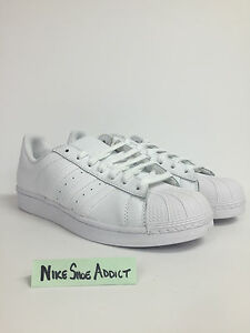 Adidas Originals Superstar Triple Core White B27136 Shell Toe Run DMC stan smith