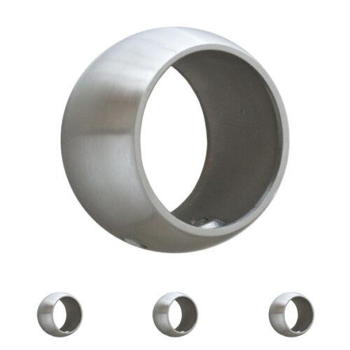 Ring Handlaufträgerplatte Edelstahl Handlaufring Handlaufhalter V2A Verbinder