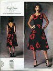 VOGUE SEWING PATTERN 1422 MISSES SZ 14-22 DESIGNER LINED DRESS W/ FITTED BODICE