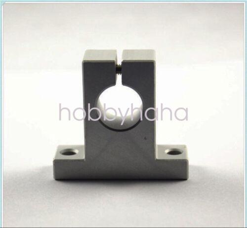 NEW 4 pcs SK12 12mm CNC Aluminum Linear Rail Shaft Guide Support Bearing