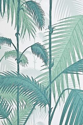 Palm  Trees Vintage Style for the retro fabulous home  - GREEN & WHITE