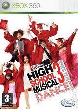XBOX 360 Disney High School Musical 3 - Senior Year Dance Video Game ddr movie