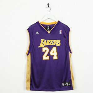 Vintage-Adidas-NBA-24-Bryant-Lakers-Mesh-Armellos-Sport-Weste-XL-Klasse-B