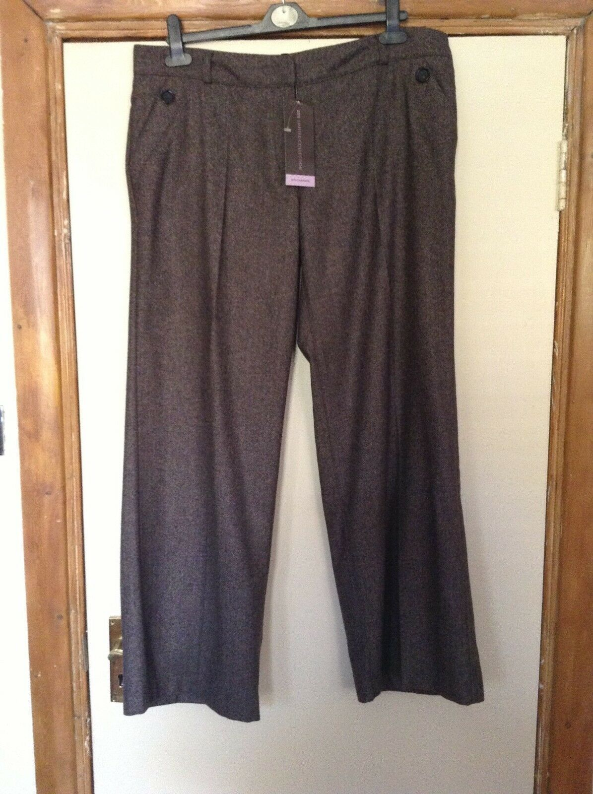 Cashmere Blend Trouser, size 16M, from Marks and Spencer