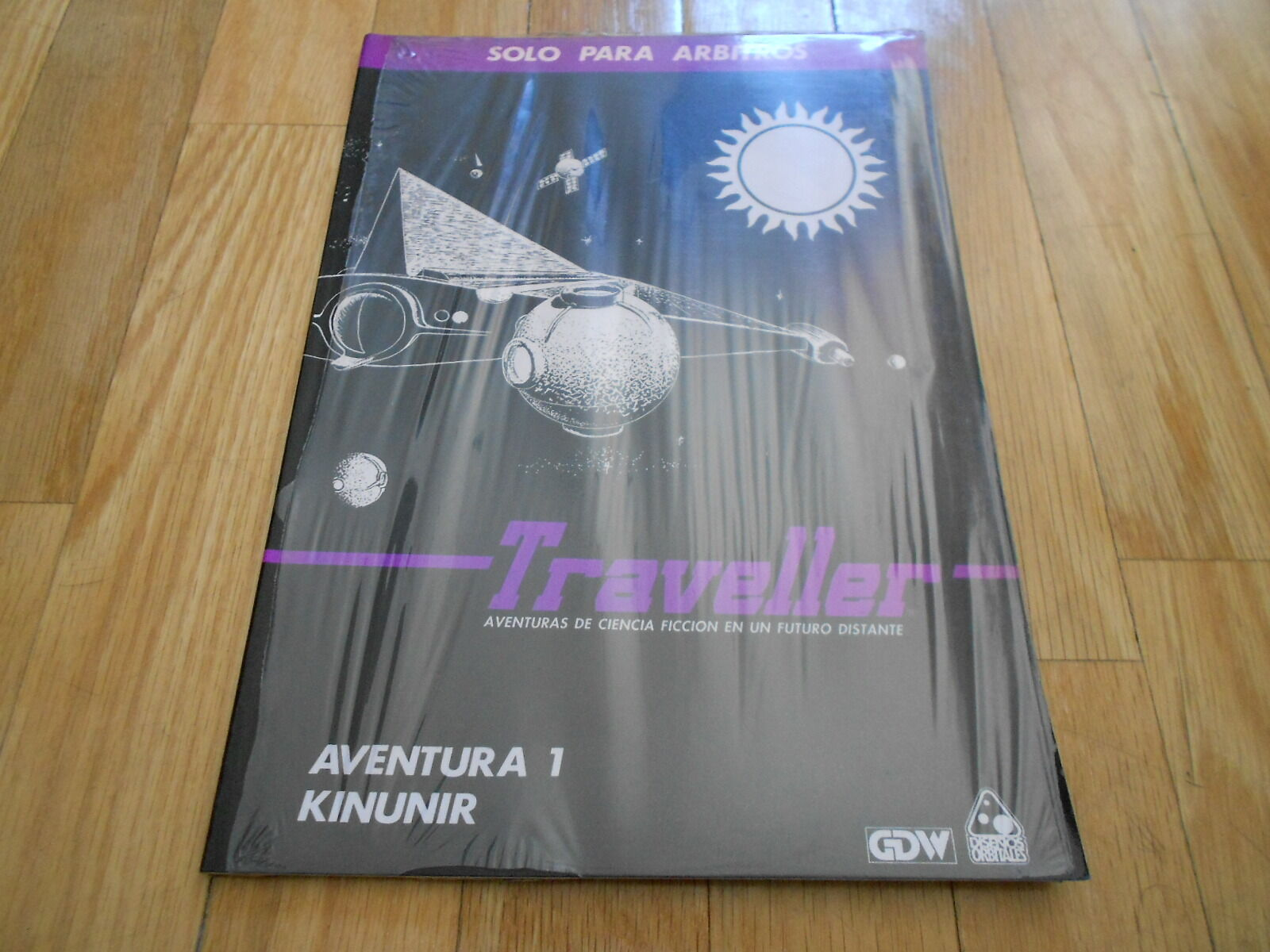 Traveller - Kinunir - Adventure 1 - Set Role Play - Diseños Orbitales