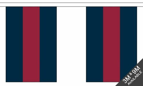 Household Division Bunting British Military 9 metre 30 flags