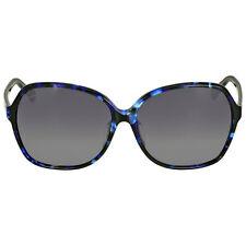 Gucci Asian Fit Blue Havana Sunglasses