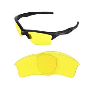 NEW REPLACEMENT NIGHT VISION YELLOW XL LENS 4 OAKLEY HALF JACKET 2.0 ... 6ae0d4582723