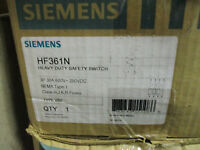 Siemens Hf361n, 30 Amp 600 Volt Fusible Nema 1 Disconnect-